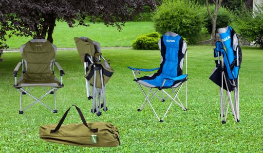 Кресла, складывающиеся в двух плоскостях