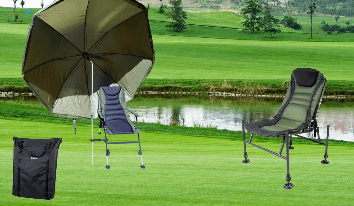 Рыбацкие кресла, фидерные и карповые