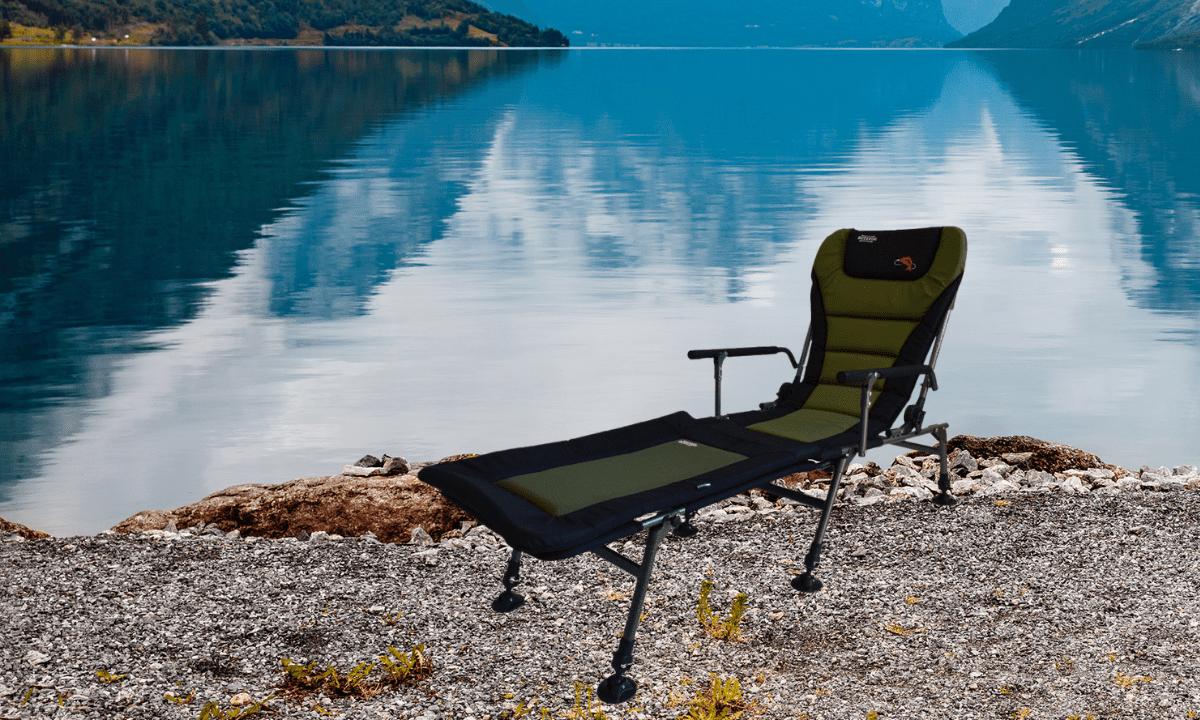 Крісло коропове Novator SR-2 Comfort + підставка Novator POD-1 Comfort