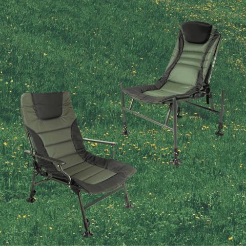 Раскладные кресла для карповой и фидерной рыбалки «Ranger»