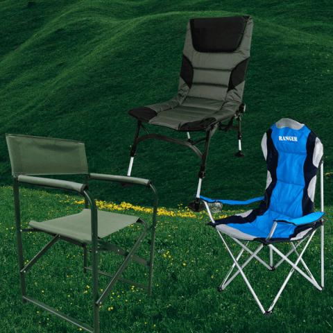 Раскладные кресла для туризма и кемпинга «Ranger»