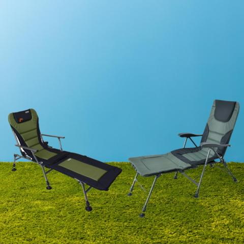 Карповые кресла раскладушки для рыбалки и кемпинга