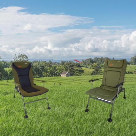 Раскладные фидерные кресла для рыбалки