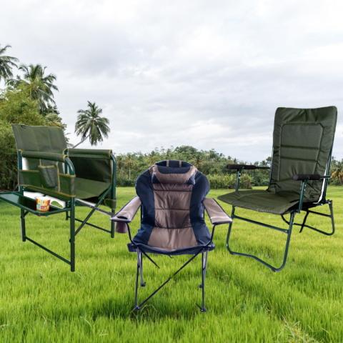 Раскладные туристические кресла для рыбалки и пикника