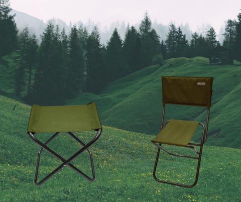 Раскладные стулья для рыбалки «Novator»